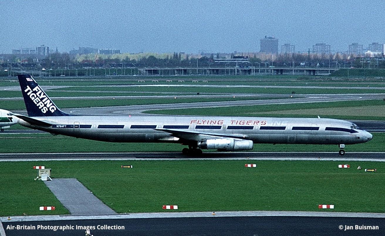 Douglas DC-8-73AF, N784FT / 46004, Flying Tiger Line (FT / FTL) : ABPic