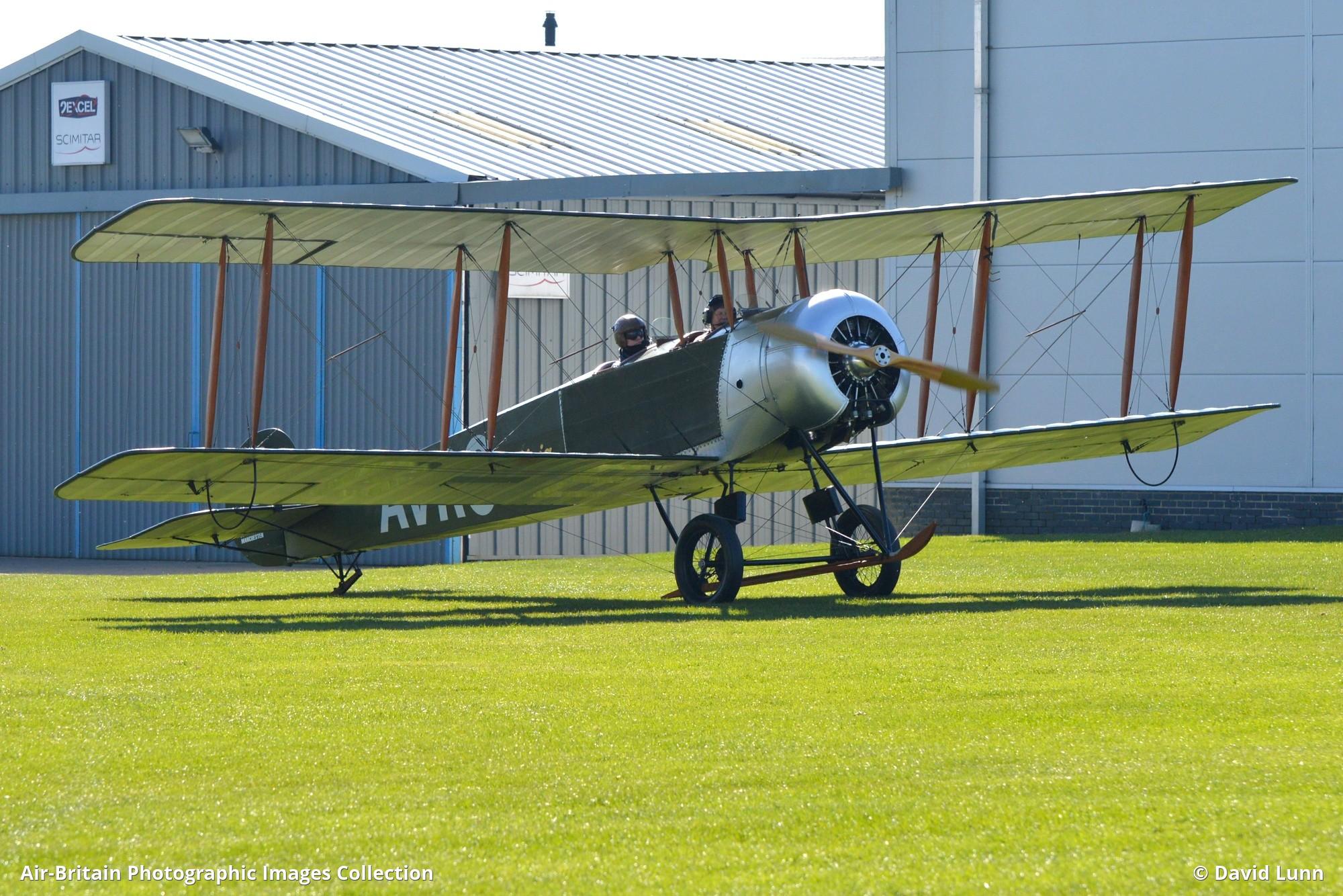 Aviation photographs of avro 504k replica abpic for Replica mobel england
