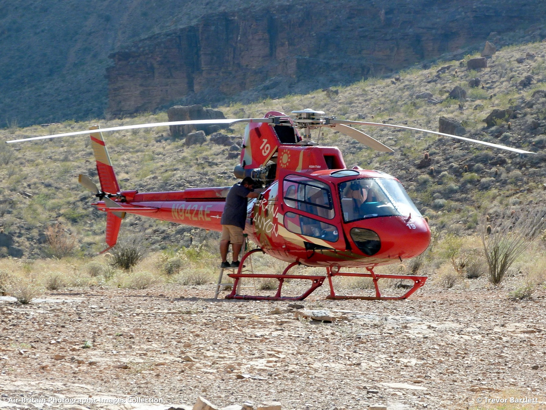 Grand Canyon West 2 Heliport AZ35 USA