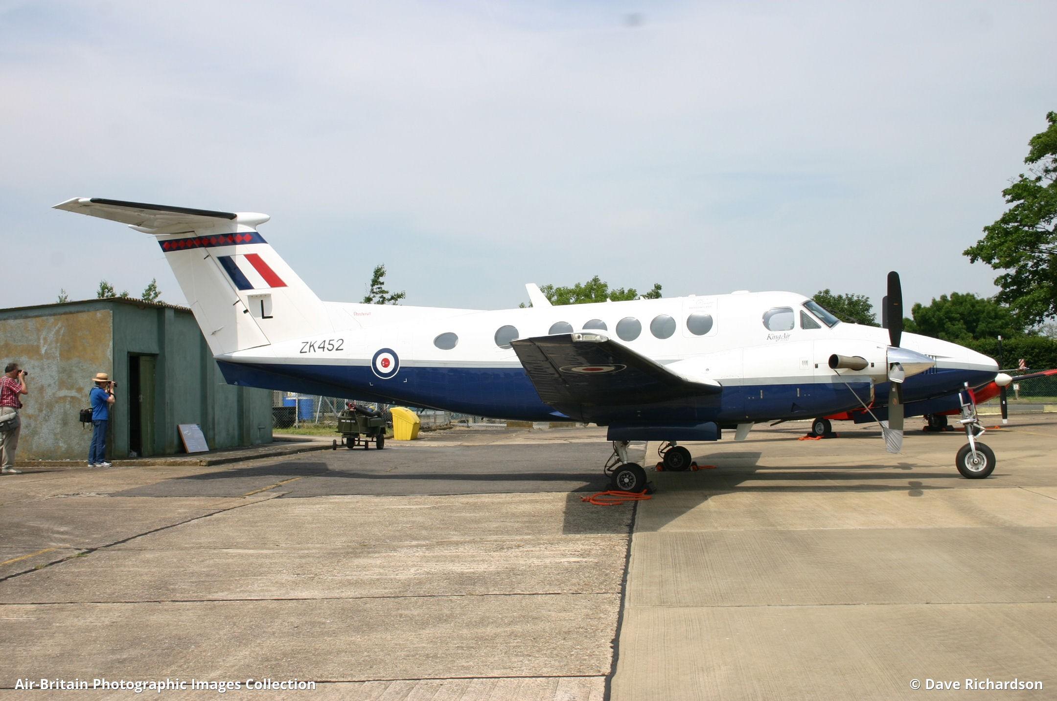 Beech B200 Super King Air, ZK452 / BB-1832, Royal Air Force