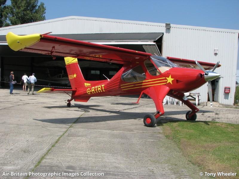 PZL-Okecie PZL-104 Wilga 2000, G-RTRT / 00060021, Private