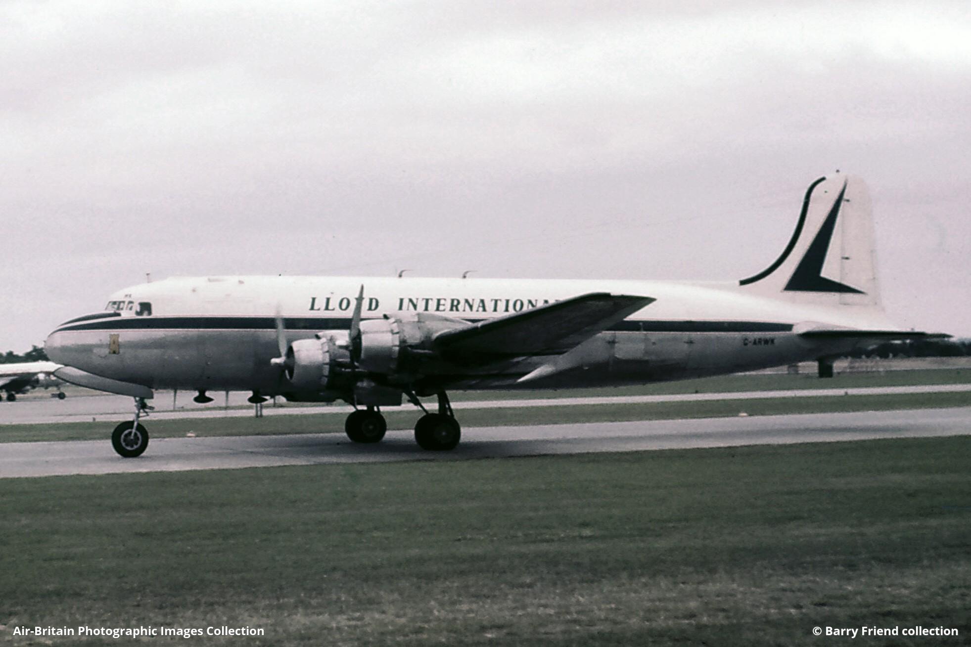 Aviation photographs of Douglas C-54G Skymaster : ABPic