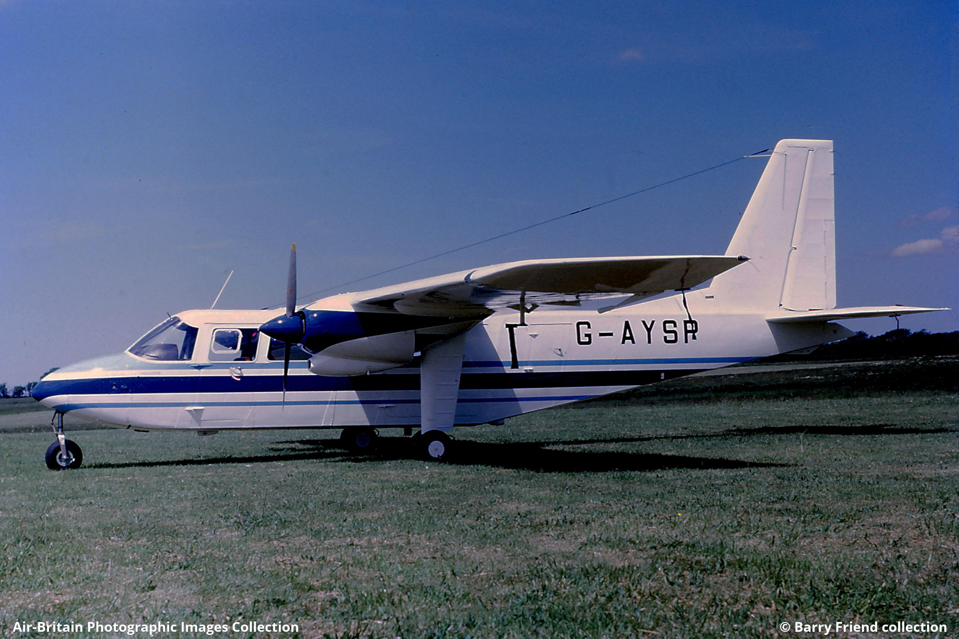 Aviation photographs of Britten-Norman BN-2A-9 Islander : ABPic