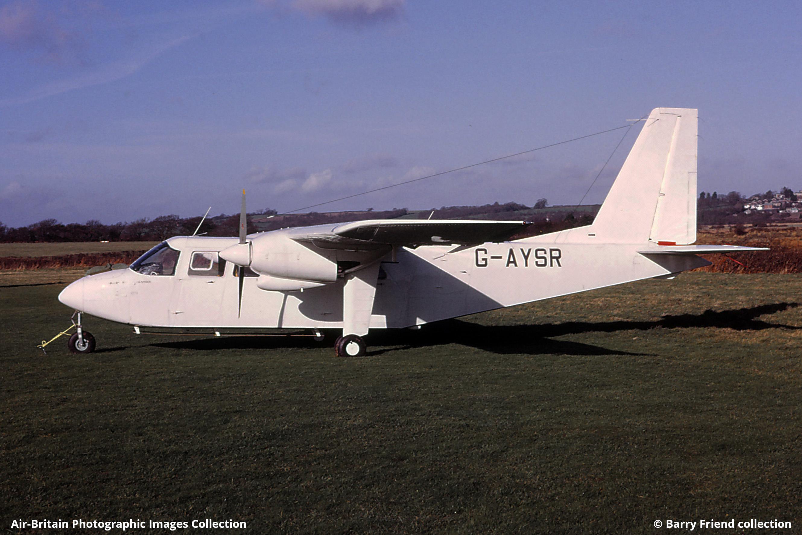 Aviation photographs of Britten-Norman BN-2A-9 Islander : ABPic