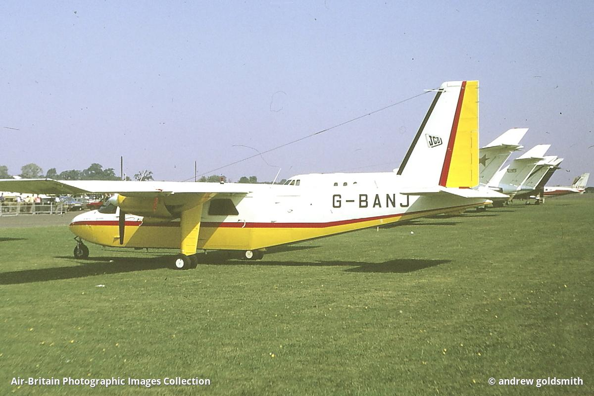 Aviation photographs of Britten-Norman BN-2A-3 Islander : ABPic