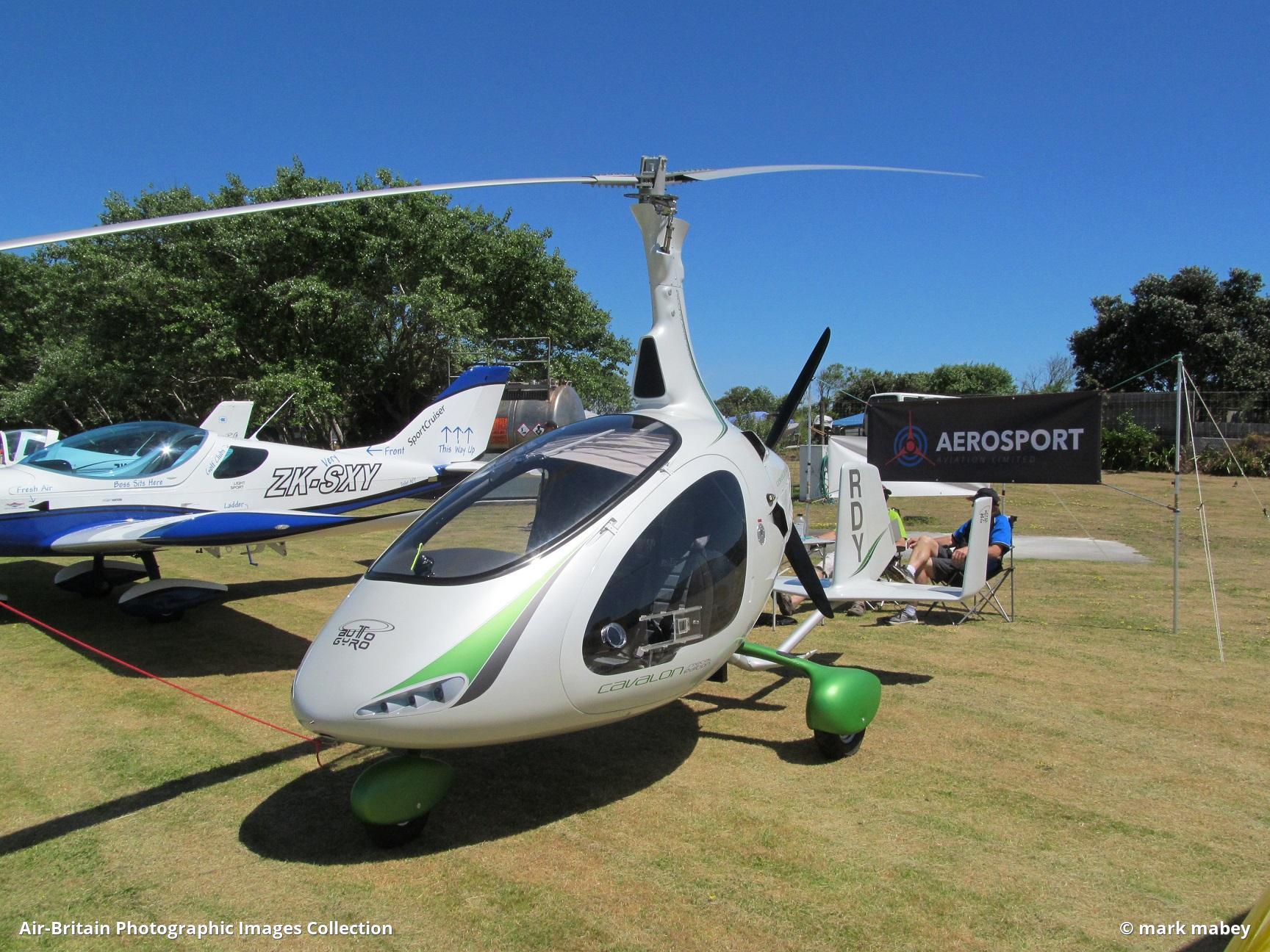 Aviation photographs of AutoGyro Europe Cavalon : ABPic