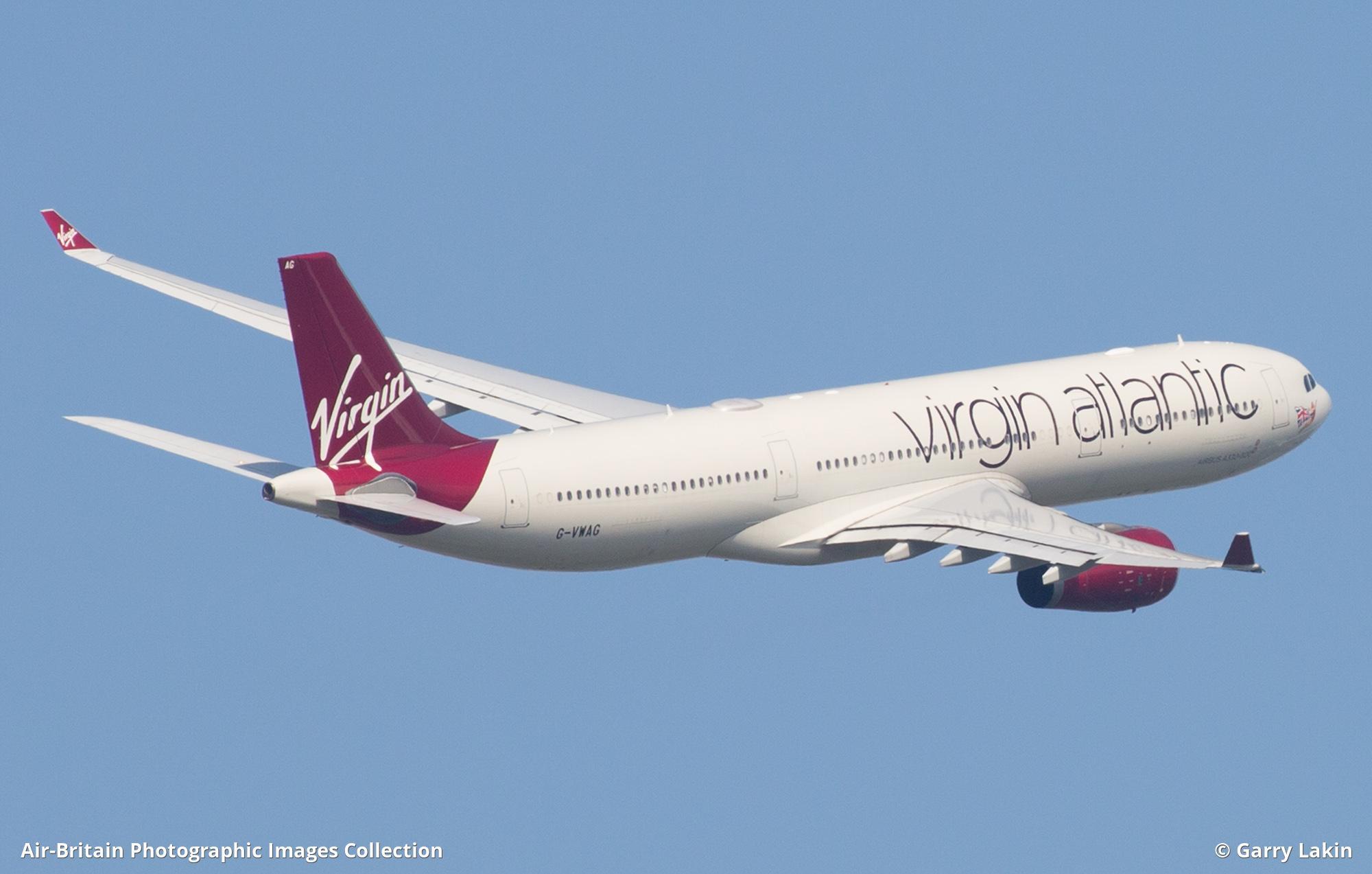 Airbus A330-343E, G-VWAG / 1341, Virgin Atlantic (VS / VIR) : ABPic