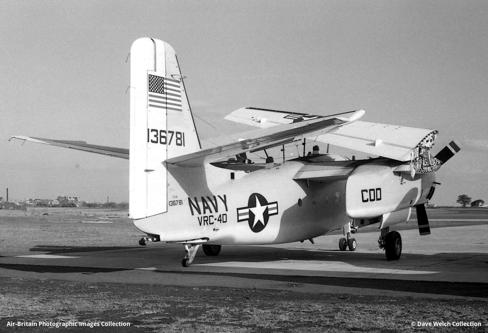 Aviation photographs of Grumman C-1A Trader : ABPic