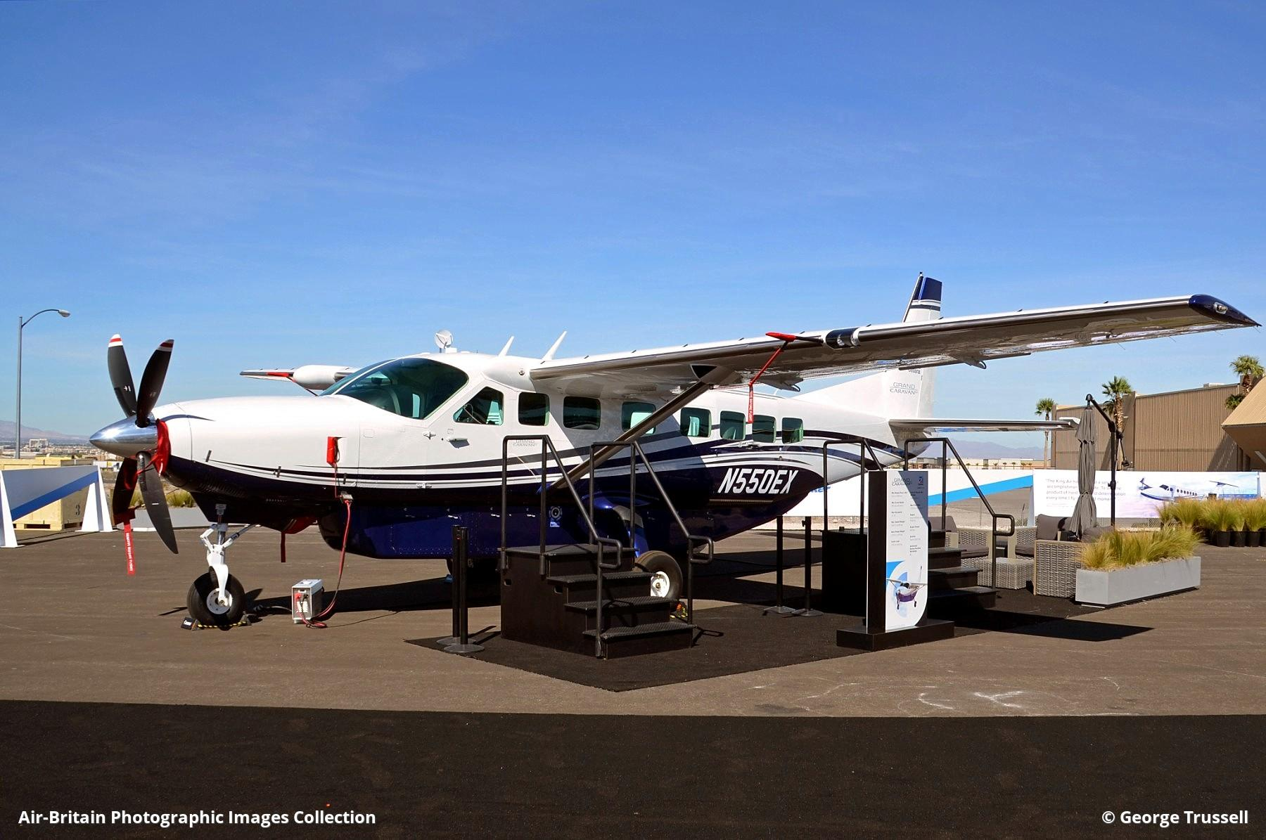 Aviation Photographs Of Cessna 208b Grand Caravan Ex Abpic