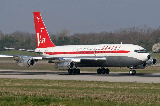 Aviation Photographs Of Boeing 707 138b Abpic
