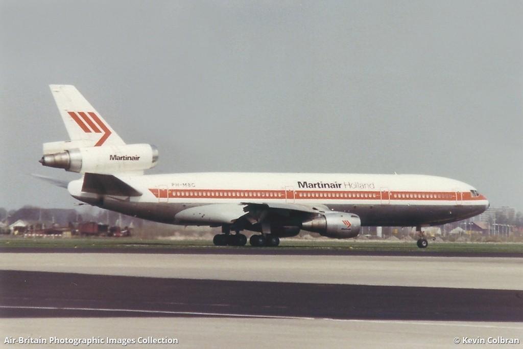 PH MBG McDonnell Douglas DC 10 30CF Martinair MP MPH Amsterdam