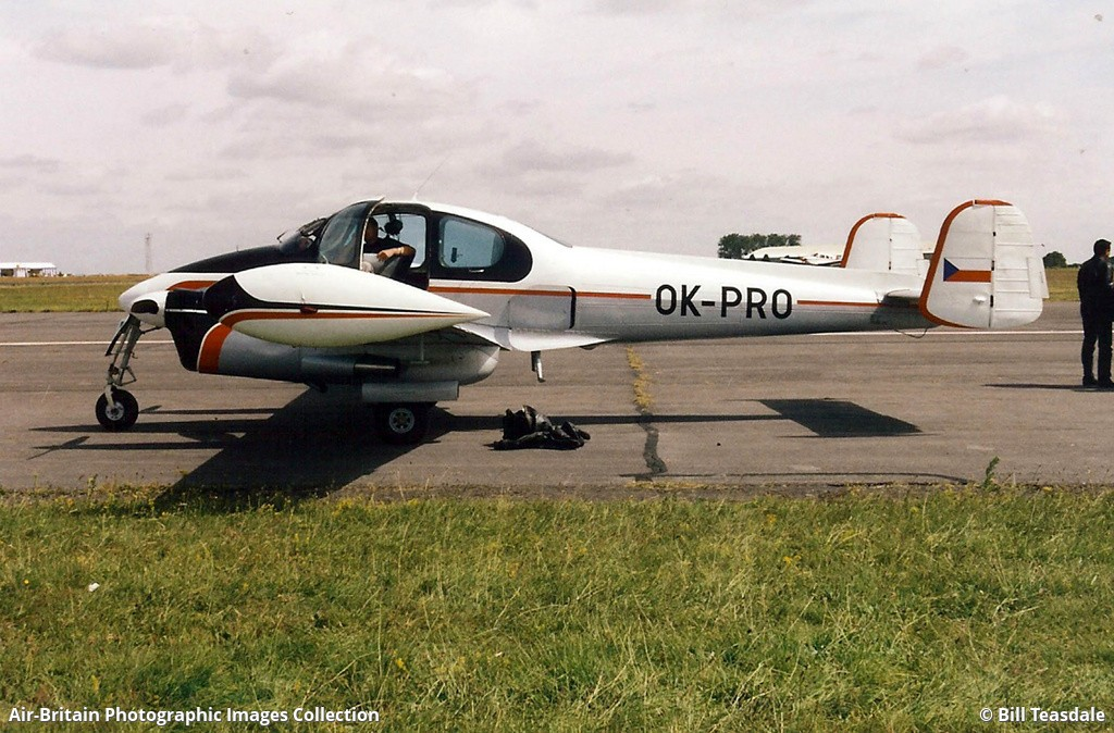 Aviation photographs of Registration: OK-PRO : ABPic
