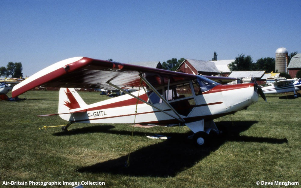 Aviation photographs of WAG-Aero Sportsman 2 + 2 : ABPic