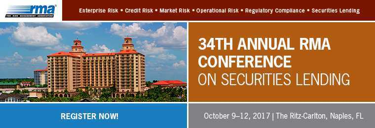 34th Annual RMA Conference On Securities Lending