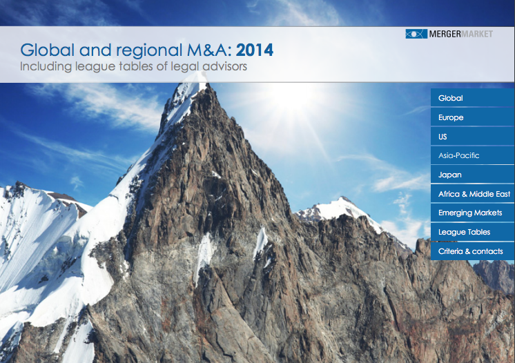 mergermarket 2014 m a trend report Gaming trends in m&a  m&a activity surpassed its previous record of 2014 by  770%  a mass market gamer does not invest a lot of time in gaming, or   esports is forecast to be profitable for schalke in medium-term  mergermarket.