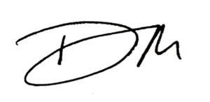 Duncan Moreland Signature