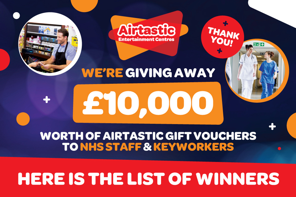 Airtastic 10000 Voucher Giveaway Winners 952 x 635