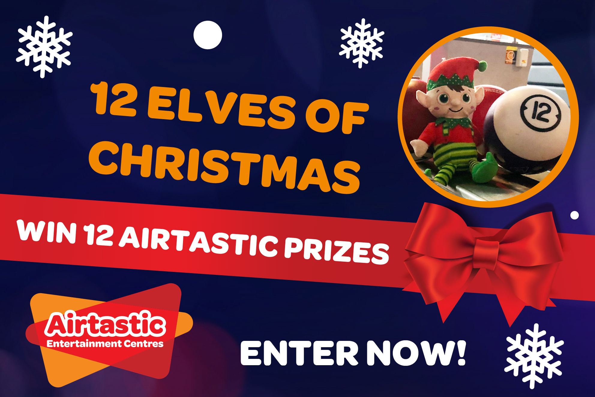 Airtastic 12 Elves of Christmas Giveaway 2020 Web Banner