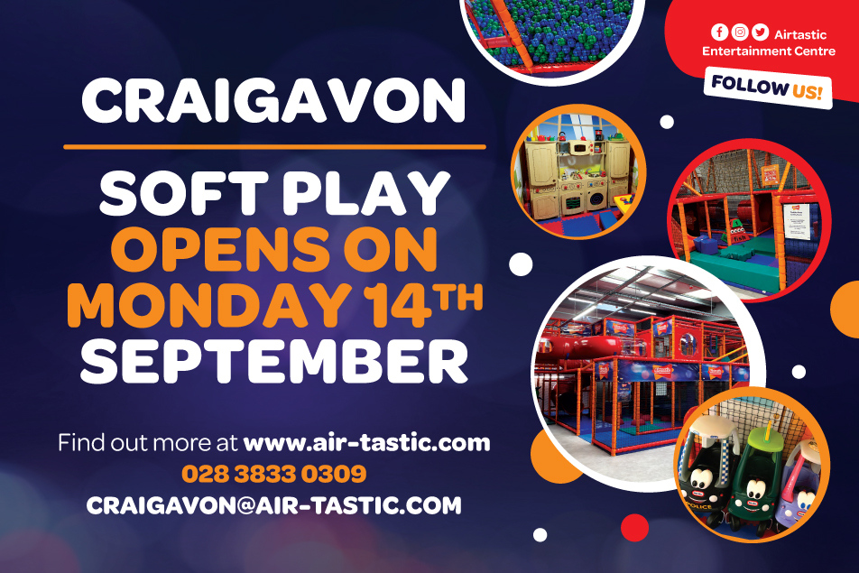 Airtastic Craigavon Soft Play Reopening Sept 2020 952 x 635