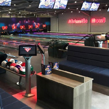 Airtastic 12 Lane Bowling Alley