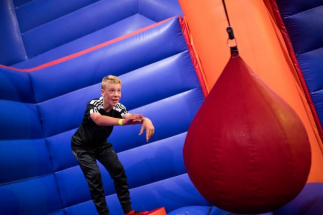 Airtastic Newtownabbey Wrecking Ball Inflata Park