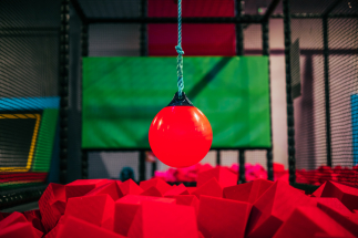 Swing Ball at Airtastic Trampoline Park