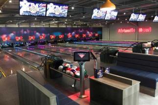 12 lane Airtastic bowling alley