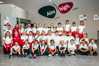 Group Photo of Kids At Airtastic Entertainment Centre