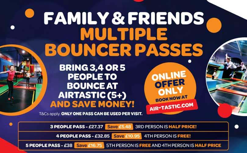 Multi Bouncer Pass Offer Info