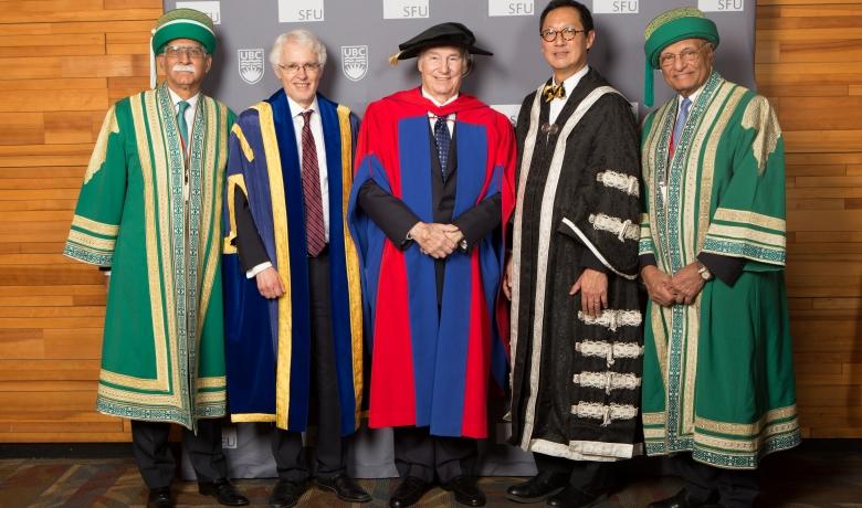 UBC / SFU Honorary Degree Conferral Aga Khan