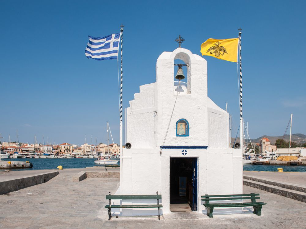 Aegina Greek Chapel