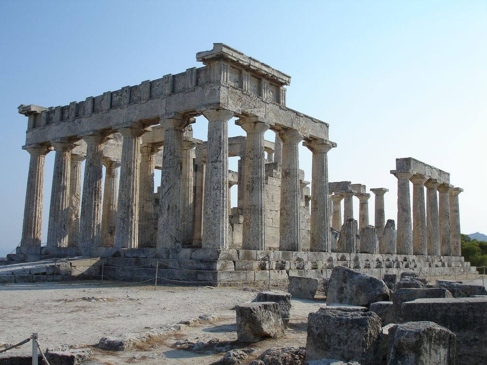 Temple of Aphaia front view
