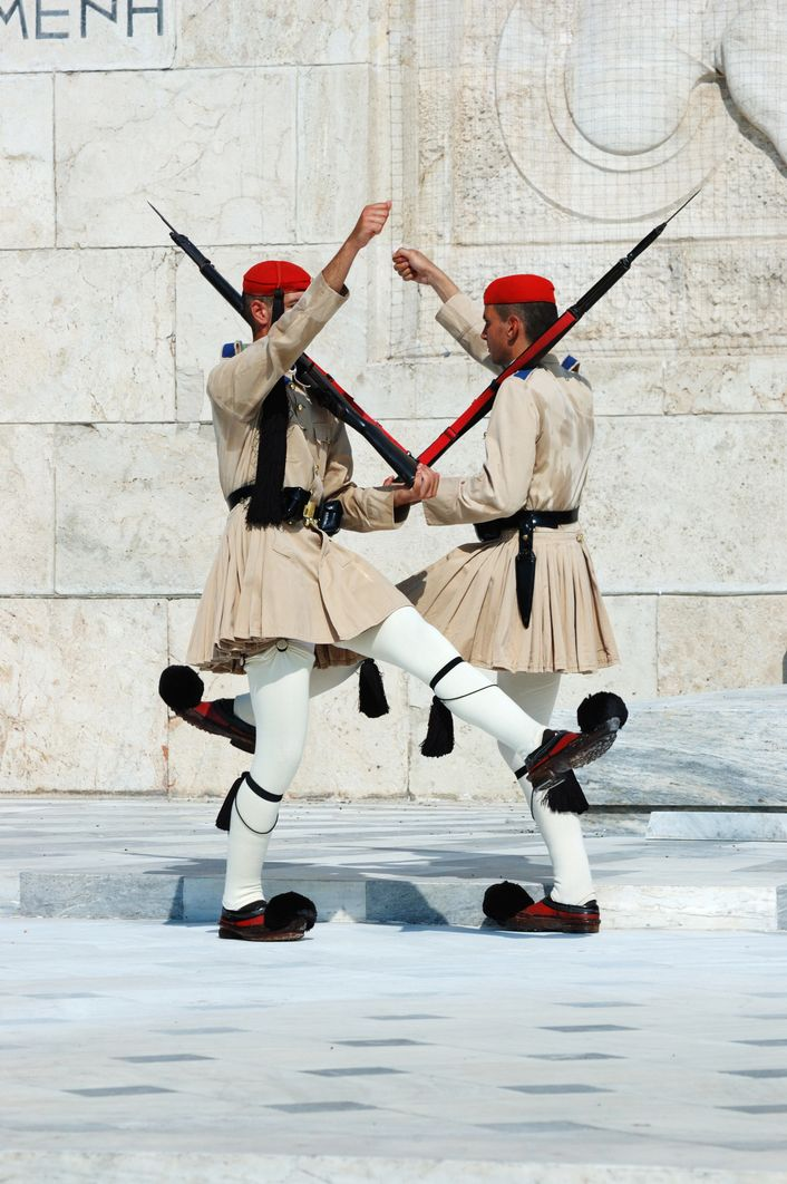 Garde présidentielle grecque Athènes