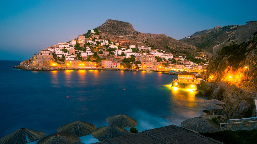 Hydra on a summer night