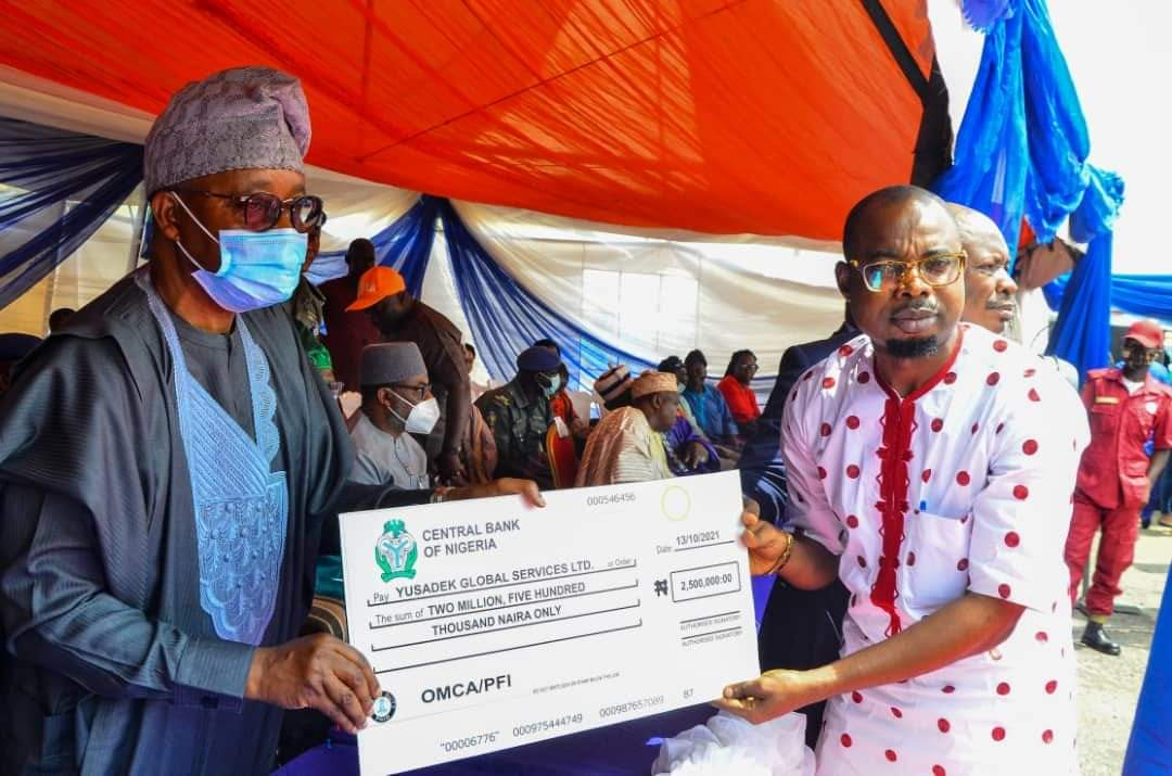 Osun Governor Disburses MSME Development Funds To Businesses