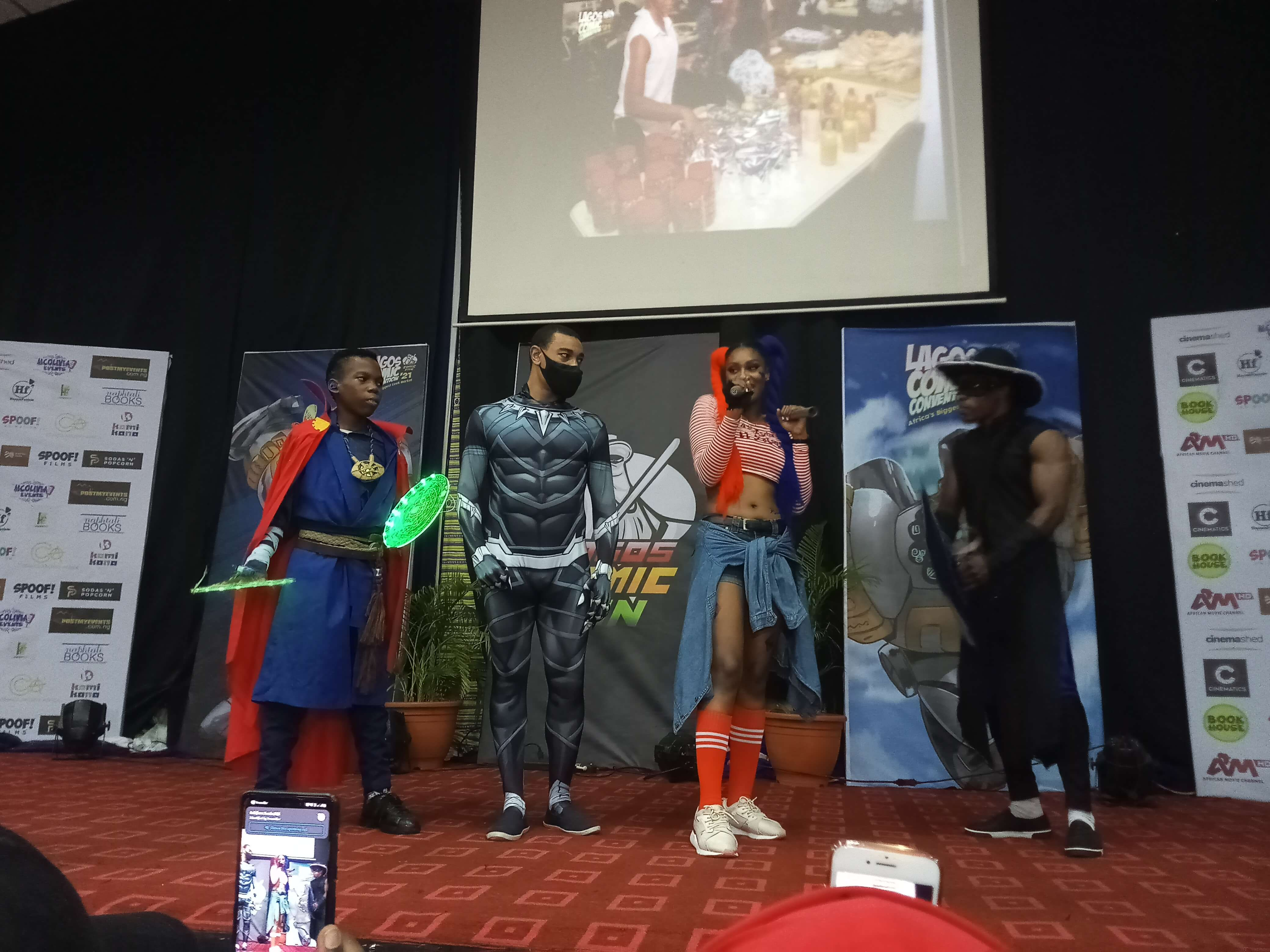 Photo News From The 2021 Lagos Comic Convention