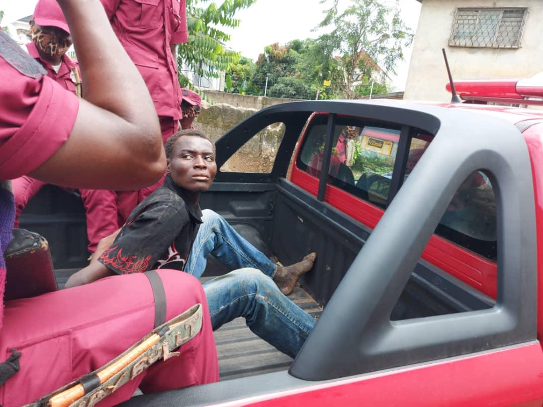 Osun Amotekun Apprehends Suspected Child Kidnapper In Osogbo