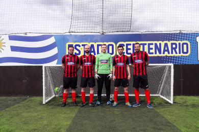 Barnsdales FC compete in Pantera Property Charity 5 a side