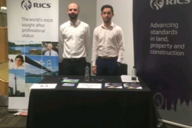 Barnsdales support the RICS at careers fair