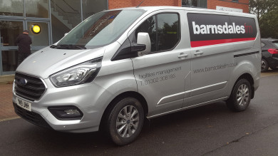 Barnsdales FM take delivery of fourth vehicle