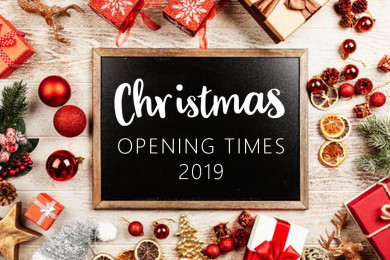 Christmas & New Year Office Opening Times