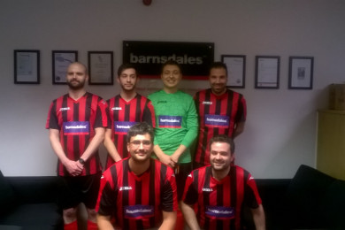 Barnsdales 'FC' compete in charity cup!