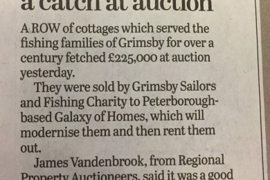 Fishing Cottages a Catch at Auction