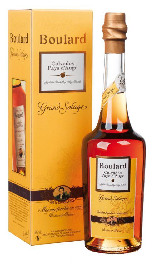 CALVADOS BOULARD Pays d'Auge Grand Solage - 0.5 L : CALVADOS BOULARD Pays d'Auge Grand Solage