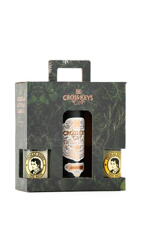 CROSS KEYS GIN® - 0.35 L/0.2 L : CROSS KEYS GIN®