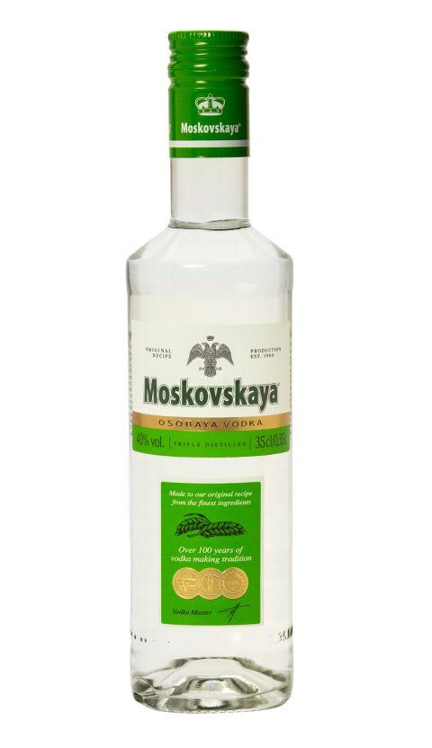 MOSKOVSKAYA® OSOBAYA - 0.35 L : MOSKOVSKAYA® OSOBAYA
