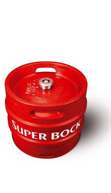 SUPER BOCK - 30L keg : SUPER BOCK