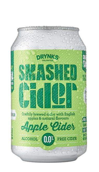 SMASHED Apple Cider - 330ml can : SMASHED Apple Cider