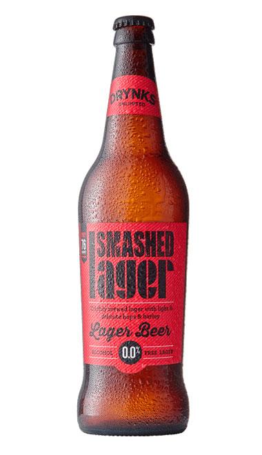 SMASHED Lager - 660ml bottle : SMASHED Lager