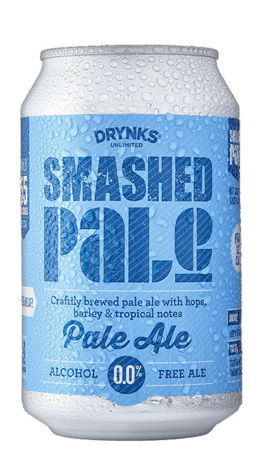 SMASHED Pale Ale - 330ml can : SMASHED Pale Ale
